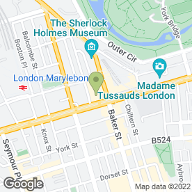 Map of Cinnamon Spice in London, london