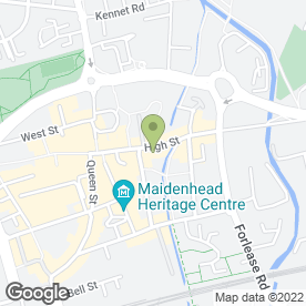 Map of Heritage Fencing & Gates Ltd in Maidenhead, berkshire