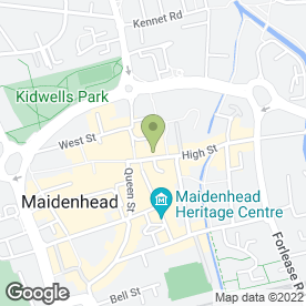 Map of Banham Security Ltd in Maidenhead, berkshire