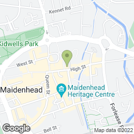 Map of Raffles Hairdressing in Maidenhead, berkshire