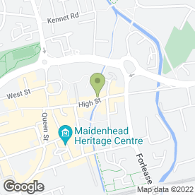 Map of Dentalign Orthodontics Maidenhead in Maidenhead, berkshire