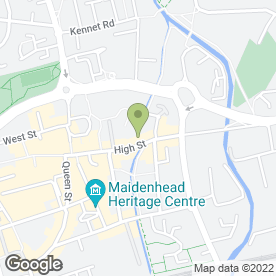 Map of G.C.D Security Locksmiths Ltd in Maidenhead, berkshire