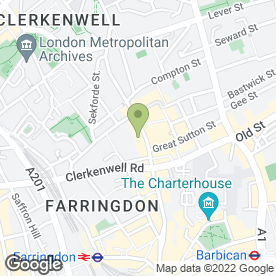 Map of Newbubbles Ltd in London, london
