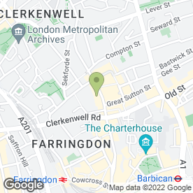 Map of Michael Finchley Recruitment Specialist Ltd in London, london