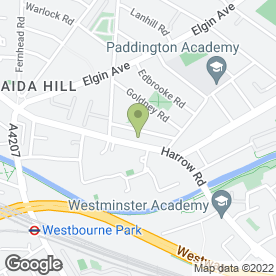 Map of Coloursonic Ltd in Maida Vale, London, london