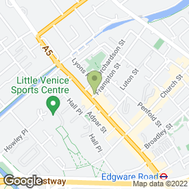 Map of Pizza Hut (UK) Ltd in London, london