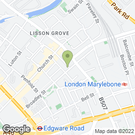Map of GWS Roofing Specialists Ltd in London, london