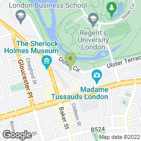 Map of Faculty of Family Planning & Reproductive Health Care in London, london