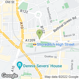 Map of Hop-Namo in LONDON