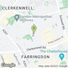 Map of Sekforde Arms in London, london
