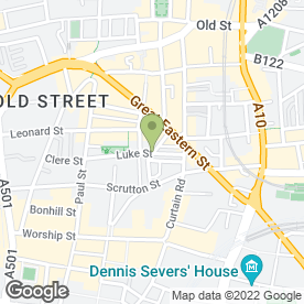 Map of Mothership in London, london