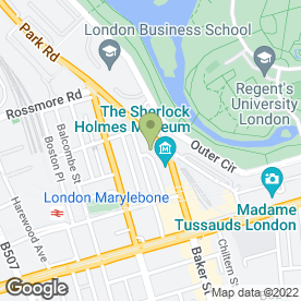 Map of Martin James in London, london