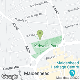 Map of DeskUK in Maidenhead, berkshire