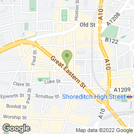 Map of Sahara in LONDON, london