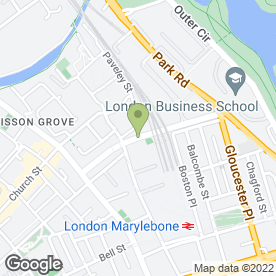 Map of THAI LONDON THERAPY in London, london
