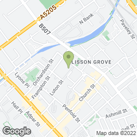 Map of Fisherton Street Pre-School in London, london