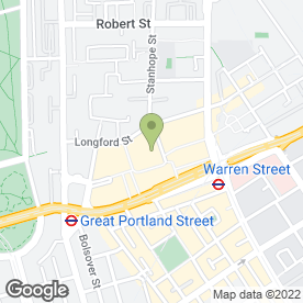 Map of SET in London, london