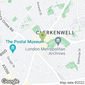 Map of East Central Cycles in London