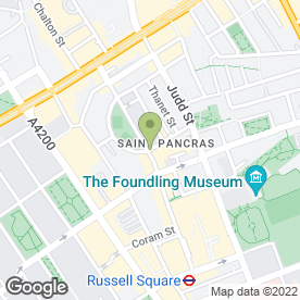 Map of Russell Supermarket in London, london