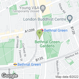 Map of Mr Cod in London, london