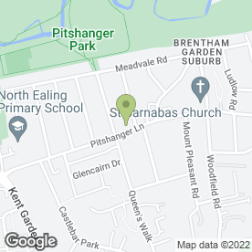 Map of Village Inn in Ealing, London, london