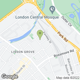 Map of Maida Vale Driving School in London, london
