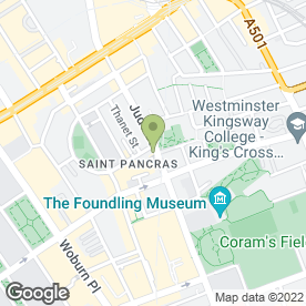 Map of Patisserie Des Amis in London, london