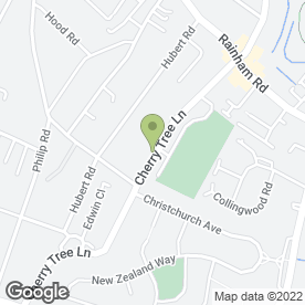 Map of Just Hair in Rainham, greater london