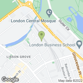 Map of Nabila Taibi in London, london