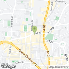 Map of Prick Tattooists & Body Piercing in London, london