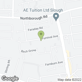 Map of Express Fire Protection Ltd in Slough, berkshire