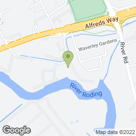 Map of Access Self Storage Barking in BARKING, greater london