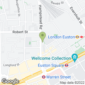 Map of Artic Camera in London, london
