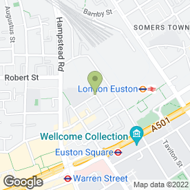 Map of EXMOUTH ARMS in London, london