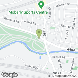 Map of Zahra Gym in London, london