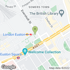 Map of Spacia Commercial Property Landlord in London, london