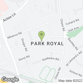 Map of HTC Park Royal in London, london