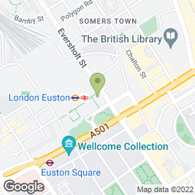 Map of Camden Food Company in LONDON, london