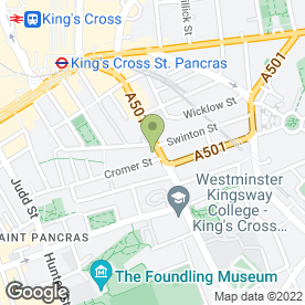 Map of Lucas Arms in London, london