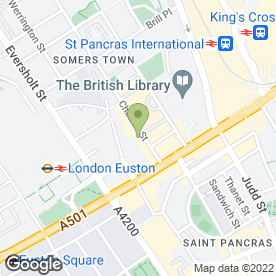 Map of Inn Supplies (UK) Ltd in London, london