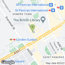 Map of Caprice in London, london