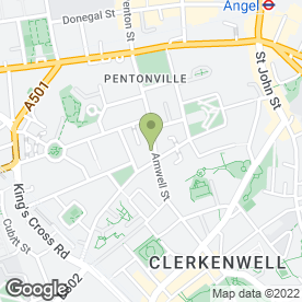 Map of GREAT & SMALL in Clerkenwell, London, london