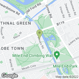 Map of D7wedding in London, london