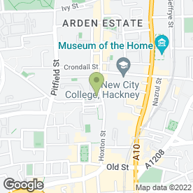 Map of Hoxton Street P.O in London, london