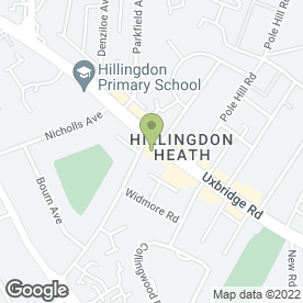 Map of Sign-A-Rama in Hillingdon, Middlesex, greater london