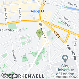Map of Harlequin Pub in London, london