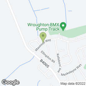 Map of Steve Windel Landscaping in Wroughton, Swindon, wiltshire