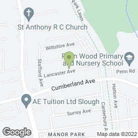 Map of Oddjob Handyman Service in Slough, berkshire