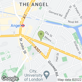Map of Revive Beauty Room in London, london