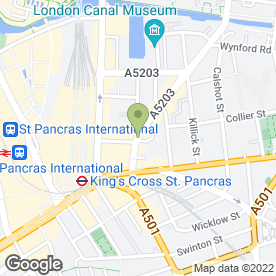 Map of Addis Restaurant in London, london